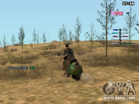 SAMP Fixer para GTA San Andreas sucesivamente de pantalla