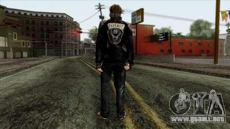 GTA 4 Skin 10 para GTA San Andreas segunda pantalla