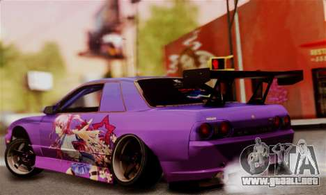 Nissan Skyline R32 Facelift S14 para GTA San Andreas left
