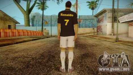 Footballer Skin 3 para GTA San Andreas segunda pantalla