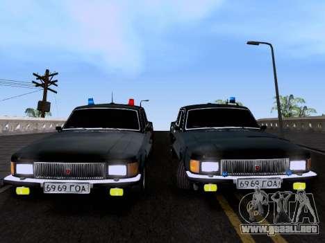 GAZ Volga 3102 para la visión correcta GTA San Andreas