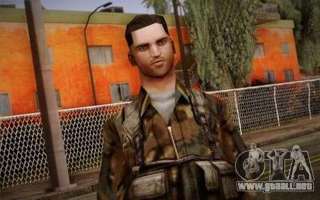 Soldier Skin 1 para GTA San Andreas tercera pantalla