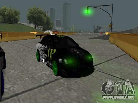 Mitsubishi Lancer Evo 9 Monster Energy para GTA San Andreas