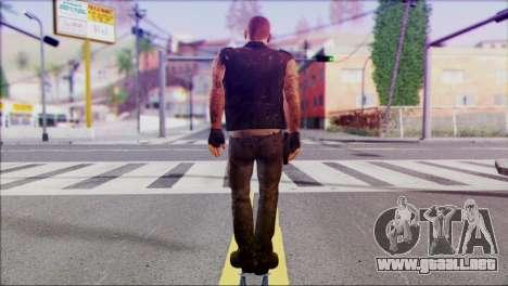 Left 4 Dead Survivor 3 para GTA San Andreas segunda pantalla