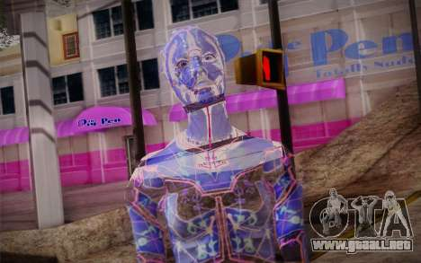 Avina from Mass Effect para GTA San Andreas tercera pantalla