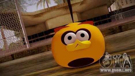 Orange Bird from Angry Birds para GTA San Andreas tercera pantalla