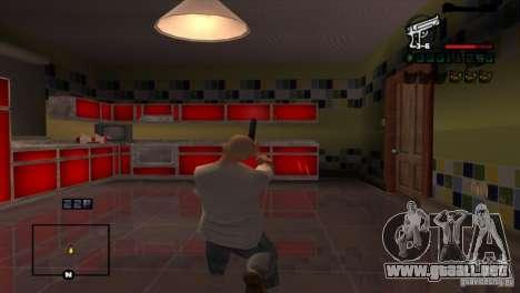 C-HUD Brendi para GTA San Andreas
