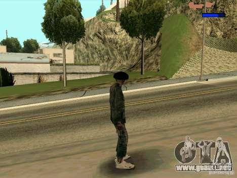Cкин Benito из Stalker para GTA San Andreas tercera pantalla