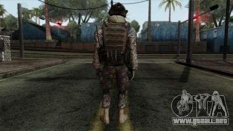 Modern Warfare 2 Skin 8 para GTA San Andreas segunda pantalla