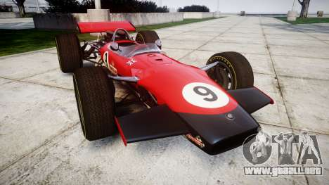 Lotus Type 49 1967 [RIV] PJ9-10 para GTA 4