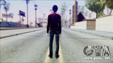 Ellie from The Last Of Us v1 para GTA San Andreas segunda pantalla