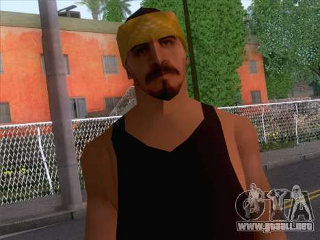 New Ballas Skin 2 para GTA San Andreas tercera pantalla