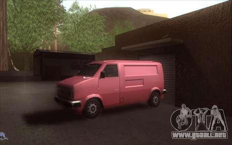El renacimiento de la aldea Dillimore para GTA San Andreas novena de pantalla