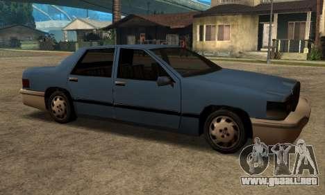 Beta Elegant Final para GTA San Andreas vista posterior izquierda