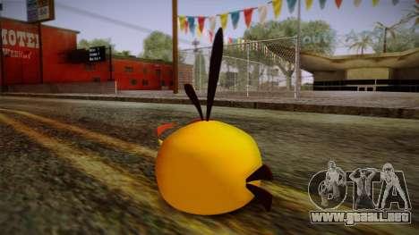 Orange Bird from Angry Birds para GTA San Andreas segunda pantalla