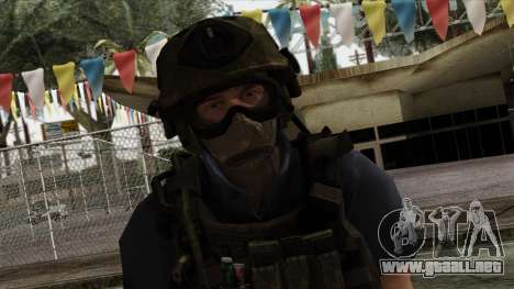 Modern Warfare 2 Skin 11 para GTA San Andreas tercera pantalla