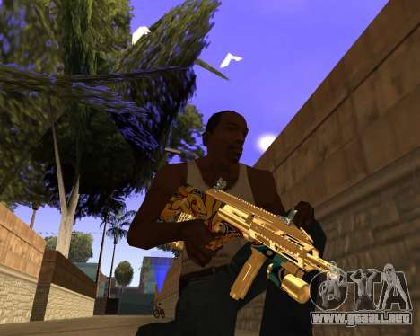 Graffity Weapons para GTA San Andreas tercera pantalla