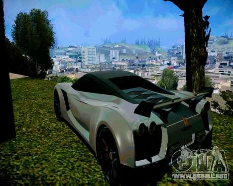 Super ENB para los débiles y medianas PC para GTA San Andreas sucesivamente de pantalla
