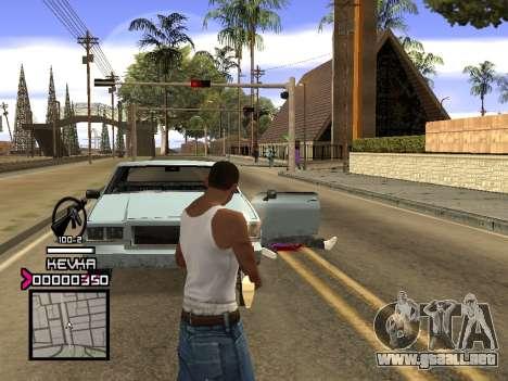 C-HUD by Kevka para GTA San Andreas sucesivamente de pantalla