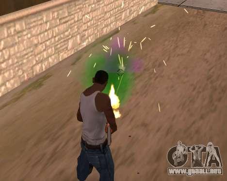 Freaky efectos para GTA San Andreas segunda pantalla