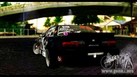Nissan Silvia S13 Fail Crew v2 para GTA San Andreas left