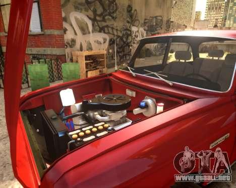 AZLK 2140 4x4 para GTA 4 vista hacia atrás