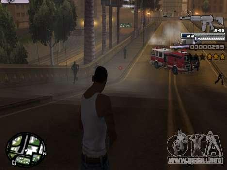 CLEO HUD Spiceman para GTA San Andreas quinta pantalla