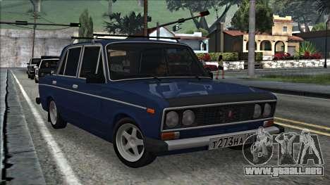ВАЗ 2106 estilo ruso 2.0 para GTA San Andreas