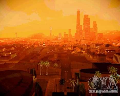 Super ENB para los débiles y medianas PC para GTA San Andreas
