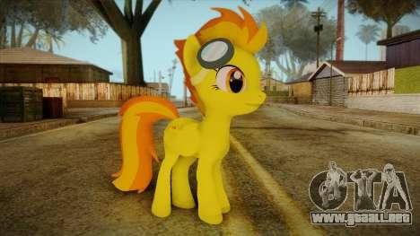Spitfire from My Little Pony para GTA San Andreas