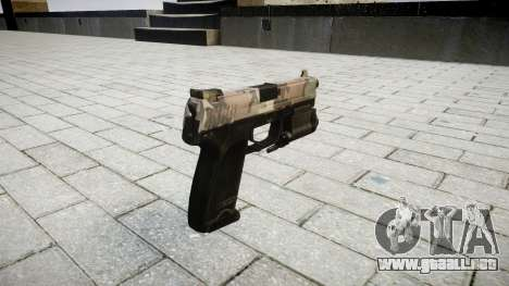 La pistola HK USP 45 erdl para GTA 4 segundos de pantalla
