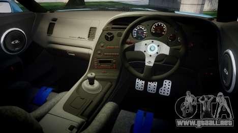 Toyota Supra 1998 para GTA 4 vista interior
