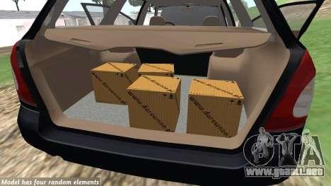 Daewoo Nubira me Vagón CDX NOSOTROS 1999 para visión interna GTA San Andreas