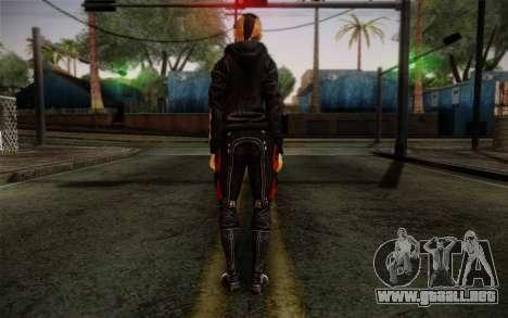 Jack Hood from Mass Effect 3 para GTA San Andreas segunda pantalla