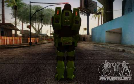 Space Ranger from GTA 5 v3 para GTA San Andreas segunda pantalla