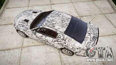 Ford Mustang Shelby GT500 2013 Sharpie para GTA 4 visión correcta