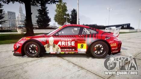 Porsche 911 Super GT 2013 para GTA 4 left