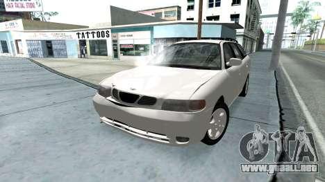 Daewoo Nubira me Vagón CDX NOSOTROS 1999 para el motor de GTA San Andreas