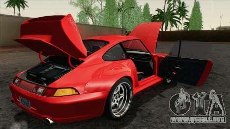 Porsche 911 GT2 (993) 1995 [HQLM] para visión interna GTA San Andreas