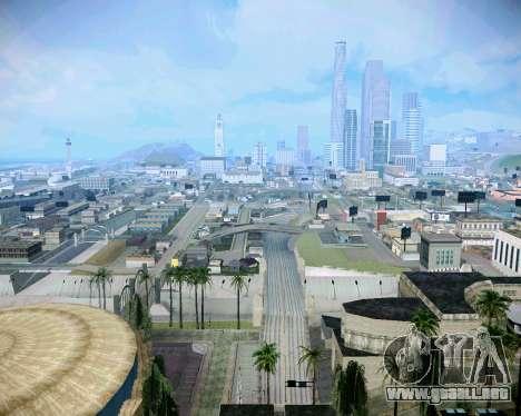 Super ENB para los débiles y medianas PC para GTA San Andreas quinta pantalla