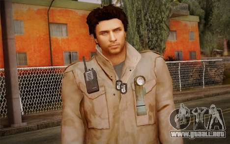 Alex Shepherd From Silent Hill para GTA San Andreas tercera pantalla