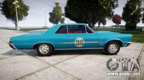 Pontiac GTO 1965 victory cars para GTA 4 left