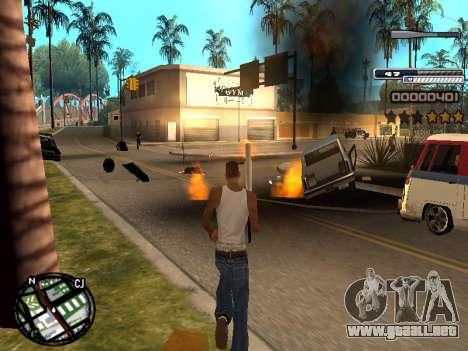 CLEO HUD Spiceman para GTA San Andreas tercera pantalla