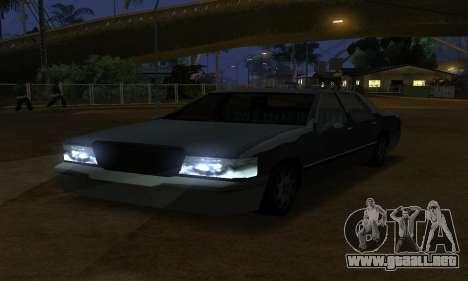 Beta Elegant Final para visión interna GTA San Andreas