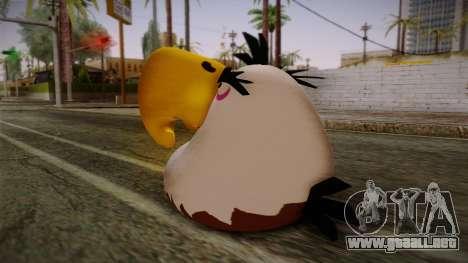 Might Eagle Bird from Angry Birds para GTA San Andreas segunda pantalla