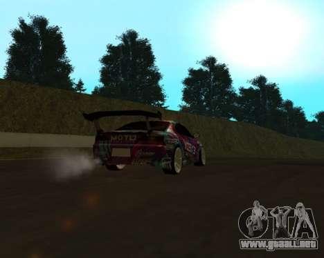 Nissan Silvia S15 EXEDY para la visión correcta GTA San Andreas