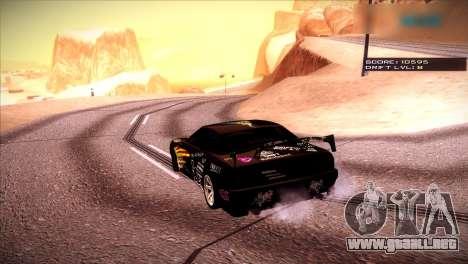 Just ENB para GTA San Andreas tercera pantalla