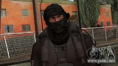 Modern Warfare 2 Skin 14 para GTA San Andreas tercera pantalla