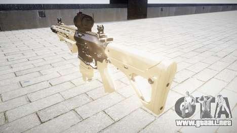 Rifle AR-15 CQB aimpoint para GTA 4 segundos de pantalla
