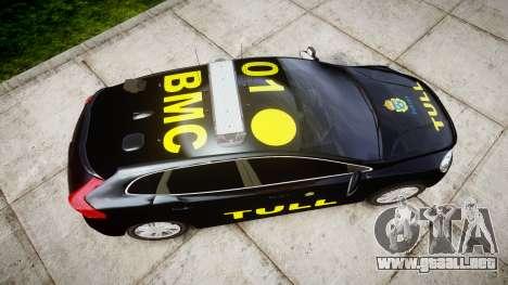 Volvo V40 Swedish TULL [ELS] para GTA 4 visión correcta